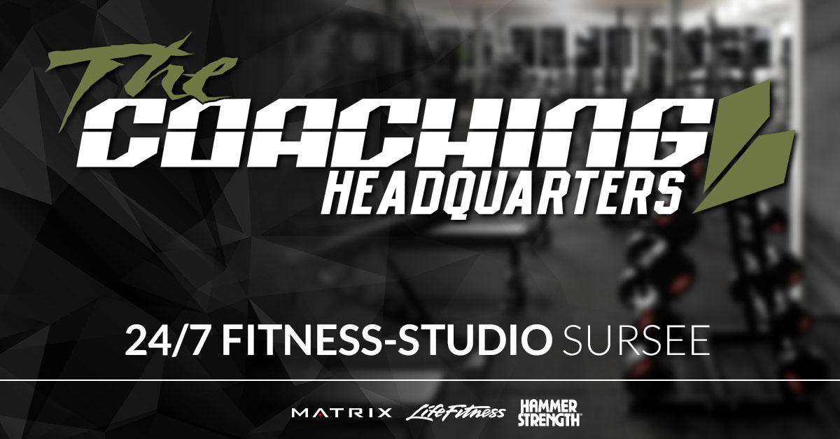 The Coaching Headquarters Gym - Dein 24/7 Fitnessstudio in Sursee